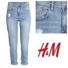 H&M Light Denim Blue Mom's Jeans