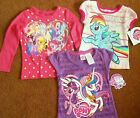 MY LITTLE PONY T-SHIRTS SIZE 2T-3T, BRAND NEW. FREE SHIPPING!