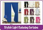 Curtains Solid Plain Thermal Backed Verona Ready Made