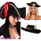 Pirate Hat Pirates Of The Caribbean Captain Jack Buccaneer Costume Accessories