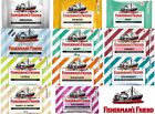 11 Flavors of Fisherman's Friend Cough Lozenges Sugar Free (Pack 6)