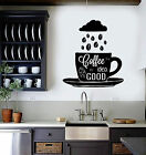 Vinyl Wall Decal Coffee R Seek Cup Beans Kitchen Stickers Mural (ig4478)