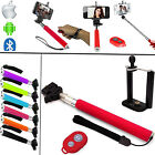 SELF-PHOTOGRAPH SELFIE STICK TELESCOPIC HANDLE+REMOTE SHUTTER FOR VARIOUS PHONES