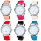 Leather Brand Wrist Watch Leather Strap Quartz Classic Casual Women's Men's