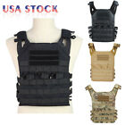 Tactical Military JPC Molle Modular Airsoft Plate Carrier Vest w/ 2 Vest Panels