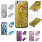 For iPhone Samsung Hot Creative Liquid Glitter Quicksand Bling Moving Case Cover