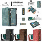 CaseMe 2-in-1 and 1-to-2 Magnetic Card Cash Slot Case Cover For iPhone Samsung