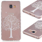 TPU Material White Trees Pattern Painted Slip Phone Cas For Various Mobile phone