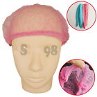 Microblading Permanent Makup Disposable Hairnet Catering Spray Stretch Hat $#