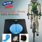 Men Women 3D GEL Padded Bike Bicycle Cycling Comfortable Underwear Shorts Pants