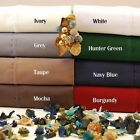 """Luxurious Finish 800-TC 1-PC Fitted Sheet 100% Cotton 6"""" Deep Pocket Solid"""
