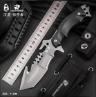 Bad Ass HX Outdoor Survival Camping Hunting Tactical Knive High Quality 440C G10