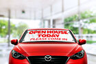 Open House Sign, Open House Today Sign, Real Estate Windshield Banner Sign