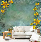 3d Flowers And Patterns 9082 Wallpaper Decal Decor Home Kids Nursery Mural Home