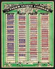 FLEETWAY PUBS {Tiger} League Ladder Team Tabs 1950s #1 to #92 Football Cards