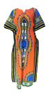 Dashiki  Africa Tribal Print Bat-Wing Elasticated Waist Women Full Maxi Dress