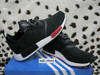 2016 ADIDAS NMD R1 FOOT LOCKER CORE BLACK/RED UK7-11,5 runner AQ4498 boost pk og