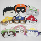 Paw Birthday Party Supplies felt masks