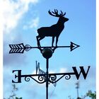 Black Solid Steel Weathervanes - Available in 19 Designs