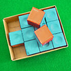 Green/Blue 2 pcs billiard Pool Cue Tip Chalk For Chalk Holder snooker chalk New $1.25 USD on eBay