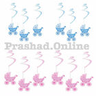 BABY SHOWER BUNTING SWIRLS PARTY DECORATION CELEBRATION NEWBORN BABY GIRL & BOY