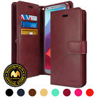 for LG G6 Case, GOOSPERY Mansoor Diary Synthetic Leather Cover Flip Wallet Case