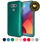 GOOSPERY i-Jelly Metallic Finish Ultra Slim Fit Thin Bumper Cover for LG G6 Case