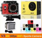 Ultra HD 4K 1080P WiFi SJ9000 DV Action Sports Camera Video Camcorder Car DVR