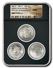 $100 OFF! Real Money of the Old West - Carson City Morgan Silver Dollar 3-Coin C