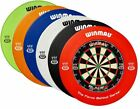 Winmau Blade 5 Dartboard & Printed Surround BDO - Dart Board Combo Set