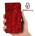 Genuine MYBFF Rose Roses Love PU Leather Wallet Custom Case for Apple iPhone
