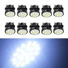 10x 3157 T25 22SMD Car LED Bulb Brake Tail Stop Reverse Light 3057 3047 White