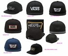VANS SNAPBACKS   FULL PATCH COLLECTION AND MORE  OSFA