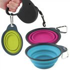 Dexas Collapsible Travel Cup With Carabiner Pet Dog Bowl Small Dishwasher Safe