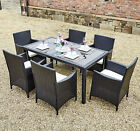 Rattan Dining Table Set with 6 & 8 Chairs Seater