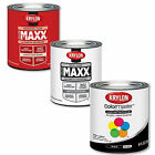 KRYLON Acrylic Latex Enamel Paints 8oz. Cans