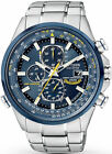 "Купить Citizen Men's AT8020-54L ""Blue Angels"" Stainless Steel Eco-Drive Dress Watch"