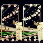 3D Bling Butterfly Transparent Soft TPU Ultra Thin Back Case Cover Skin C11 #1