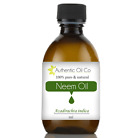 Organic Neem Carrier Oil Insecticide Cold Pressed Insect Repellent Pest Base UK