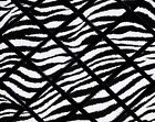 Black and White Zebra French Memo Board - 16 x 20, your choice of ribbon color
