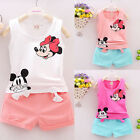 Toddlers Kids Baby Girls T-shirt Tops+Pants/Shorts/Dress Outfits Clothes Set
