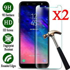 Clear Tempered Glass Screen Cover Protective Film For Samsung Galaxy Cell Phone