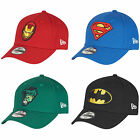 New Era Kids Superhero Curve Peak Hulk Superman Batman Toddler & Child Cap Hat