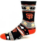 San Francisco Giants Ugly Christmas Sweater Gingerbread Crew Socks