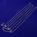 Metal chains for Necklace Bracelet Made in china Women's Lanyard 20pcs