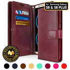 Galaxy S8 / S8+ Case, GOOSPERY® Mansoor Synthetic Leather Diary Wallet Cover