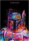Star Wars Hunter cloth 100% cotton wall home Decore high quality Canvas $69.99 AUD