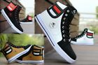 HOT Fashion Mens Round Toe High Top Sneakers Casual Lace Up Skateboard Shoes