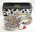 New Vans Classic Slip-on Disney Mickey Mouse / Frost Gray Shoes Men's 9 - 12