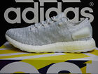 NEW AUTHENTIC ADIDAS Pure Boost Men's Running Shoes - White/Grey; BA8893